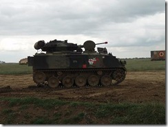 One of the tanks