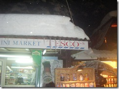 Borovet's version of Tesco