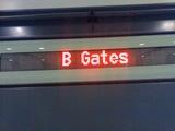 B Gates