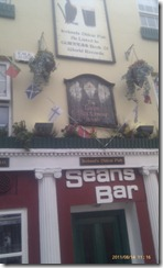 Sean's Bar, the oldest pub in Ireland