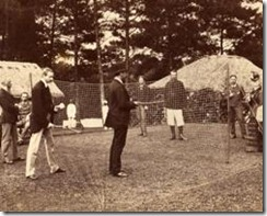 Early Badminton Game
