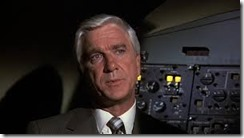 Leslie Nielsen in Airplane: Don't Call Me Shirley
