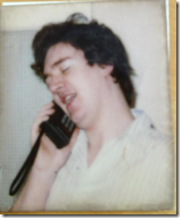 My first mobile c1986